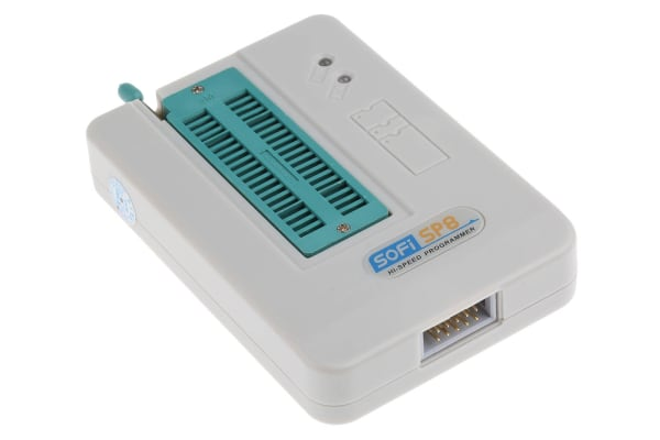 Product image for EEPROM/FLASH PROGRAMMER SPI ZIF40 USB