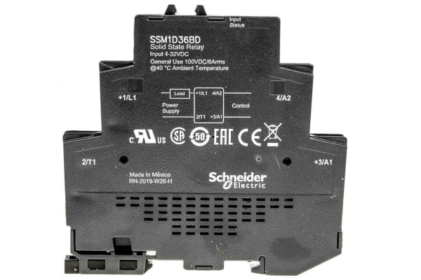 Product image for 1 PH SSR 100 VDC 6A 24
