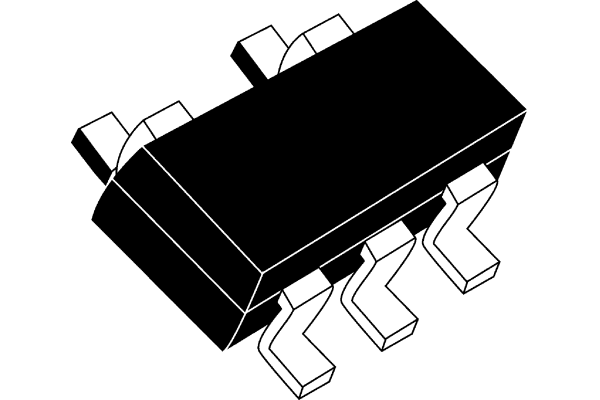 Product image for 100mA, Lw Noise, LDO reg, LT1761ES5-3.3