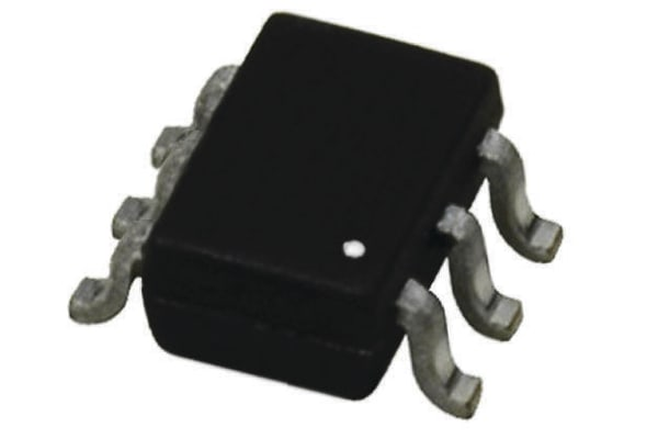 Product image for BJT,NPN,DUAL,MATCHED,45V,100MA,SOT363