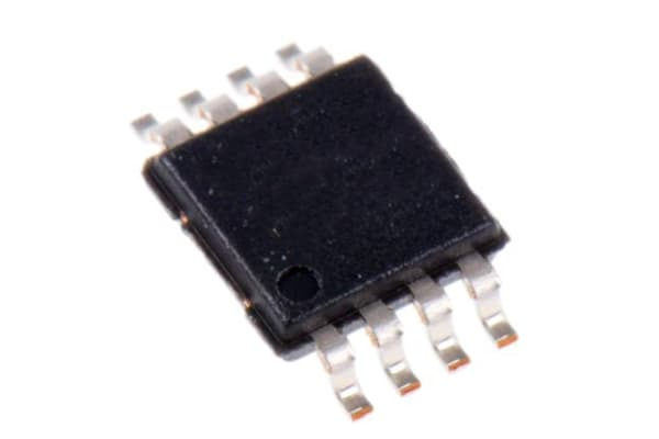 Product image for AD623ARMZ-REEL7 Analog Devices, Instrumentation Amplifier, 500μV Offset 800kHz, R-RO, 2.7  12 V, 8-Pin MSOP