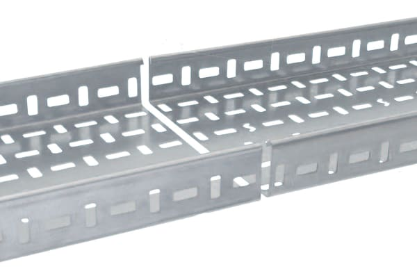 Product image for RETURN FLANGE STEEL CABLE TRAY,3MX75MM