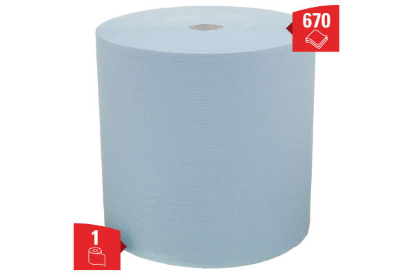 Product image for Kimberly Clark Dry for Heavy Duty Wiping Use, Roll of 750
