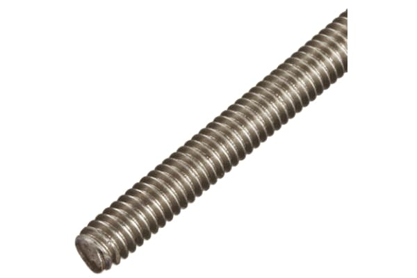 Product image for RS PRO Plain Stainless Steel Threaded Bar, M5, 1m