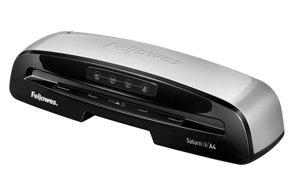 Product image for Fellowes Saturn Hot A4 Laminator Black