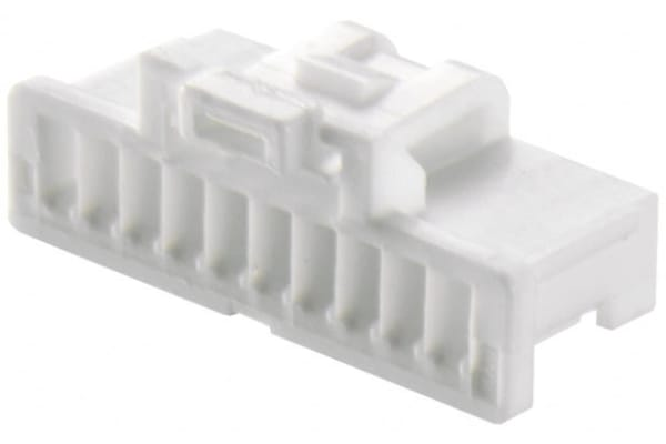 Product image for 10W SINGLE ROW CRIMP HOUSING 1MM