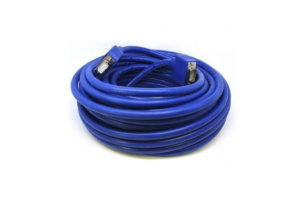 Product image for Van Damme VGA to VGA cable, Male to Female, 20m
