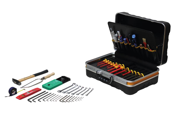 Product image for Bernstein 64 Piece Electronics Tool Kit with Case