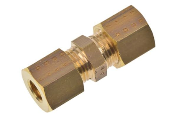 Product image for EQUAL STRAIGHT COUPLING,8 X 8MM COMP