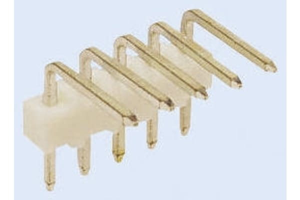 Product image for 10 WAY 90DEG PCB HEADER,2.54MM PITCH