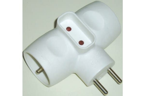 Product image for 3 WAY ADAPTOR MULTIPLE OUTLET