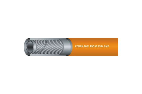 Product image for LPG hose,Orange 25m L 8mm ID