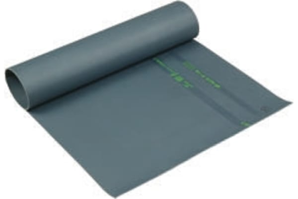 Product image for Catu Anti-Slip Electrical Safety Mat CEI61111, EN61111 1m x 1m x 3mm