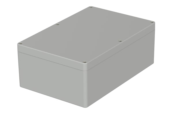 Product image for Bopla Euromas, Grey ABS Enclosure, IP66, Flanged, 240 x 160 x 90mm