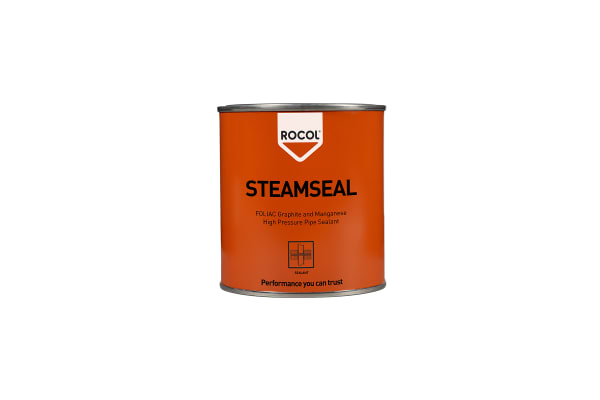 Product image for Rocol 30042 Pipe Sealant Paste for Jointing. 300 g Tin, -20 → 600 °C