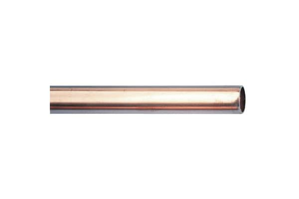 Product image for Annealed copper tube,3m L x 1/2in OD