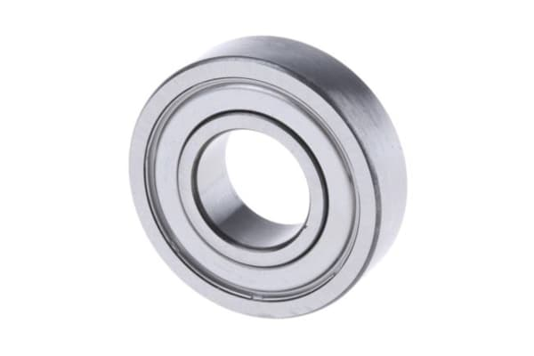Product image for 1 ROW RADIAL BALL BEARING,2Z 1/2IN ID