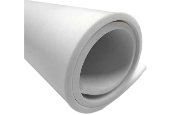 Product image for EPDM Sponge, White, 2000x1000x6mm