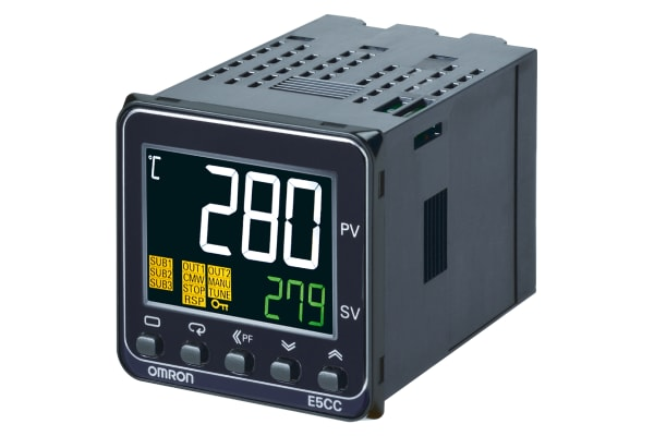 Product image for Temperature controller, 1 x relay output