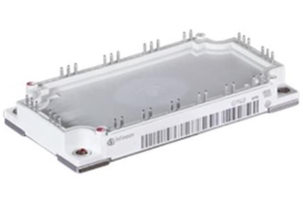 Product image for 3-ph IGBT Module + Chopper+NTC 1200V 75A