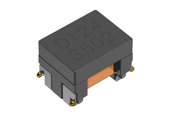 Product image for ACT1210 COMMON MODE CHOKE 11UH  R4 300MA