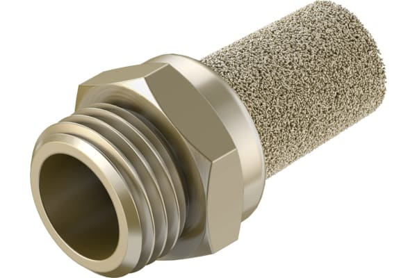 Product image for EXHAUST PORT SILENCER G1/4 THREAD