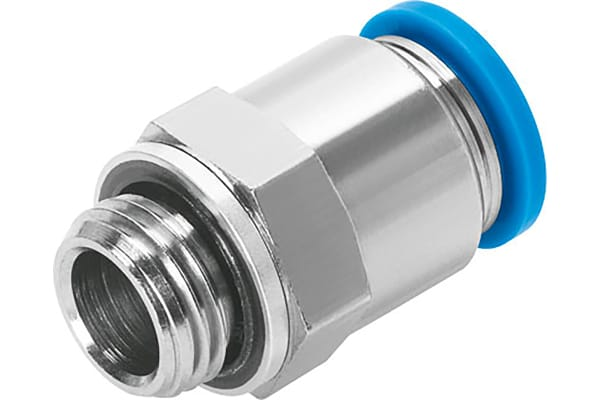 Product image for Push-in Fitting, Male G1/4, 6mm