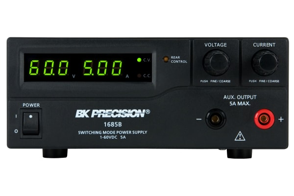 Product image for BK Precision Bench Power Supply, , 300W, 1 Output , , 60V, 5A