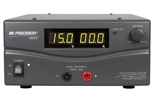 Product image for BK Precision Bench Power Supply, , 900W, 1 Output , , 15V, 60A