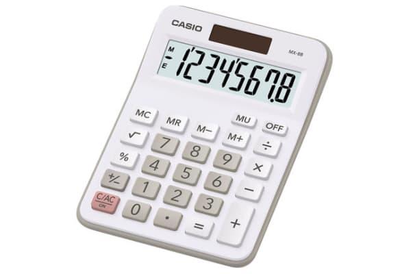 Product image for CASIO 8 DIGIT DESKTOP CALCULATOR