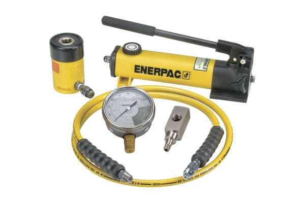 Product image for Enerpac Single, Portable Portable Hydraulic Cylinder - Lifting Type, SCH121H, 12t, 42mm stroke