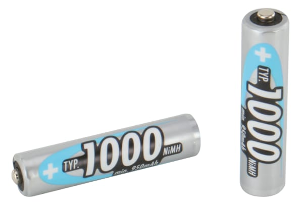Product image for NIMH AAA 1000MAH 2/BLISTER