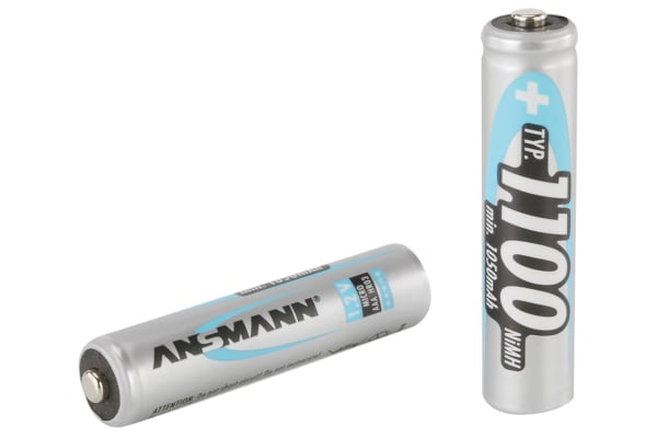 Product image for NIMH AAA 1100MAH 2/BLISTER