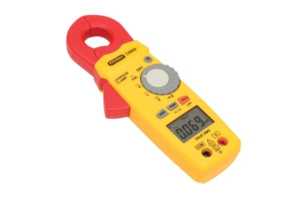 Product image for CM69 TRMS AC EARTH LEAKAGE CLAMP METER