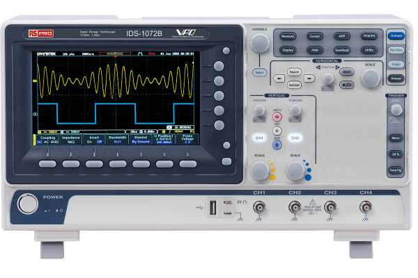 Product image for Digital Storage Oscilloscope,70MHz,2Ch