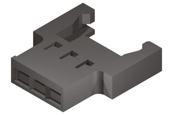 Product image for Plug Housing 2.00mm wire-to-wire, 3w