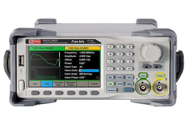 Product image for Waveform generator 80MHz,2 channels