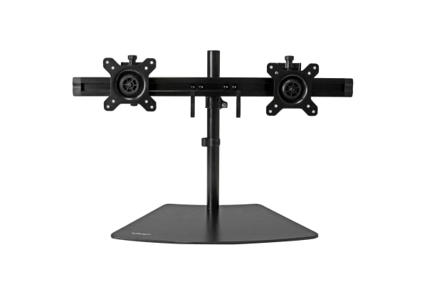 Product image for Startech Dual Monitor Crossbar Stand