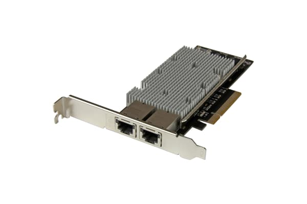 Product image for Startech 2 Port PCIe Network Interface Card