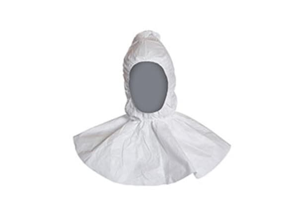 Product image for DUPONT TYVEK DISPOSABLE HOOD WHITE 10