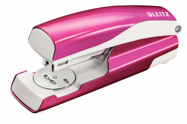 Product image for STAPLER NEXXT - 30 SHEETS - PINK - BOX