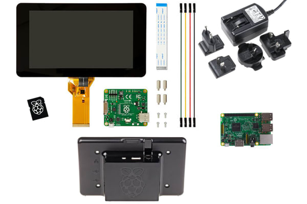 Product image for Raspberry Pi 3 Premium Display Kit