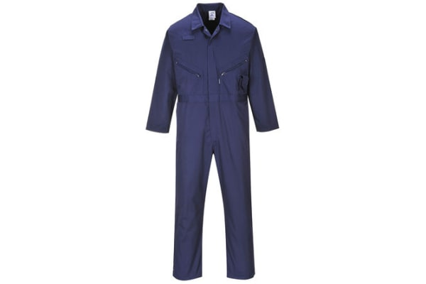 Product image for LIVERPOOL ZIPPED BOILERSUIT NAVY L