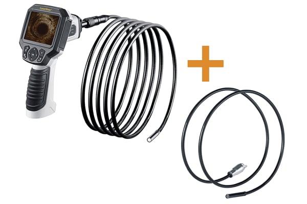 Product image for Laserliner 9mm probe Inspection Camera Kit, 10m Probe Length, LED Illumination