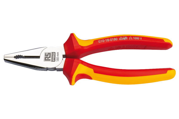 Product image for 180 mm Insulated Pliers (VDE Approved)