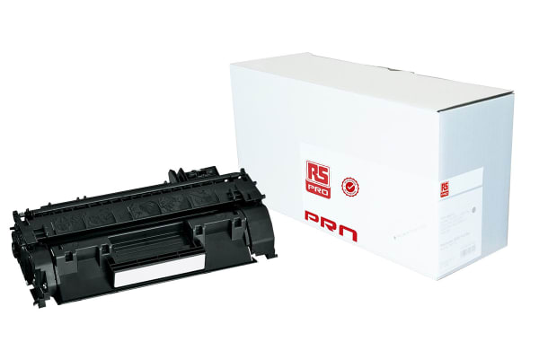 Product image for RS PRO CF380A BLACK TONER CARTRIDGE
