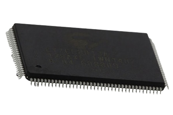 Product image for USB 2.0 MICROCONTROLLER FX2LP? TQFP128