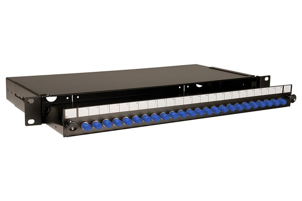 Product image for ST Singlemode patch panel -24 adaptors