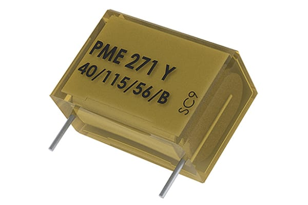 Product image for Film Capacitor Radial Y2 0.022uF 300Vac