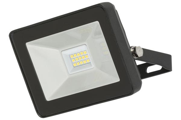 Product image for 10W LED BLACK  FLOODLIGHT